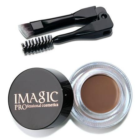 Eyebrow Enhancers Waterproof Long Lasting Eyebrow Gel Kit Makeup Dye + (The Best Eyebrow Dye)