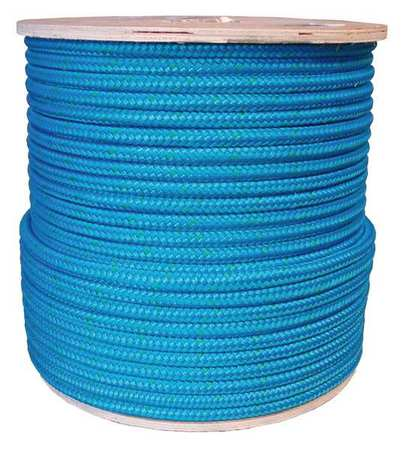 Rigging Line Rope,1/2 in x 600 ft,Double ZORO SELECT 20TL66