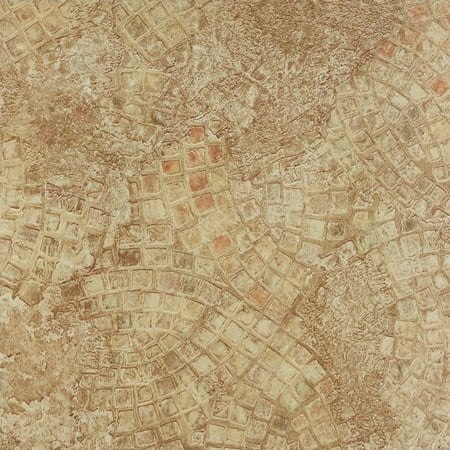 Achim Nexus Ancient Beige Mosaic 12x12 Self Adhesive Vinyl Floor Tile - 20 Tiles/20 sq. ft. (Multicolor Mosaic Tile)