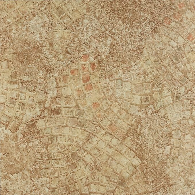 Achim Nexus Ancient Beige Mosaic 12x12 Self Adhesive Vinyl Floor Tile - 20 Tiles/20 sq. ft.