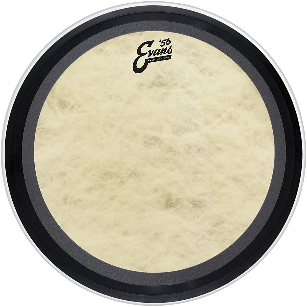 "Evans 16"" EMAD Calftone Bass Drum Head by Evans"