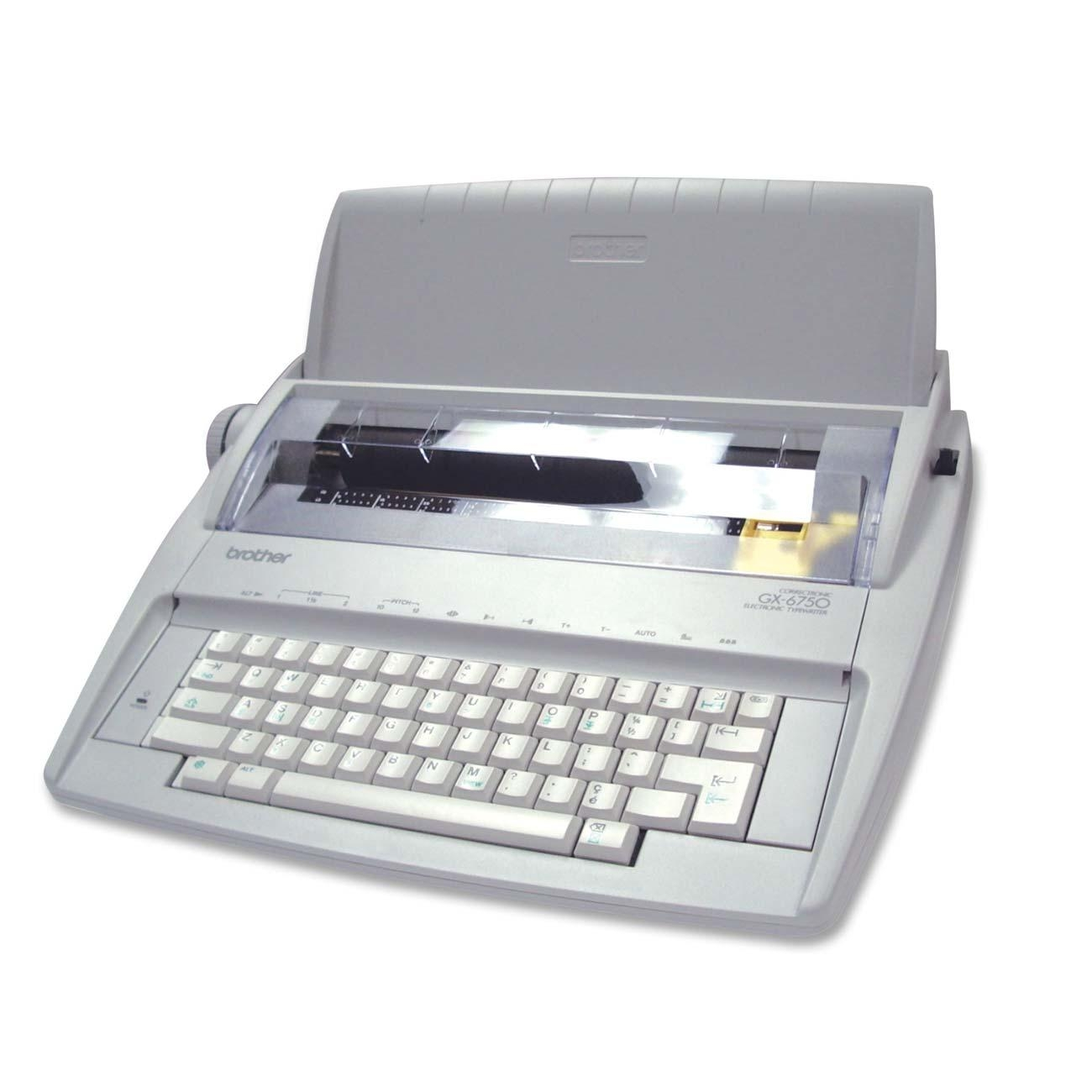 brother gx 6750 daisy wheel electronic typewriter walmart com rh walmart com Brother GX-6750 User Manual brother gx-6750 portable electronic typewriter manual