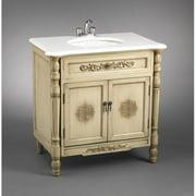 AA Importing 32'' Single Bathroom Vanity Set