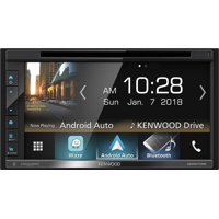 """Kenwood DDX6705S 2 DIN DVD/CD Player 6.8"""" LCD Android iPhone HD Radio Bluetooth"""