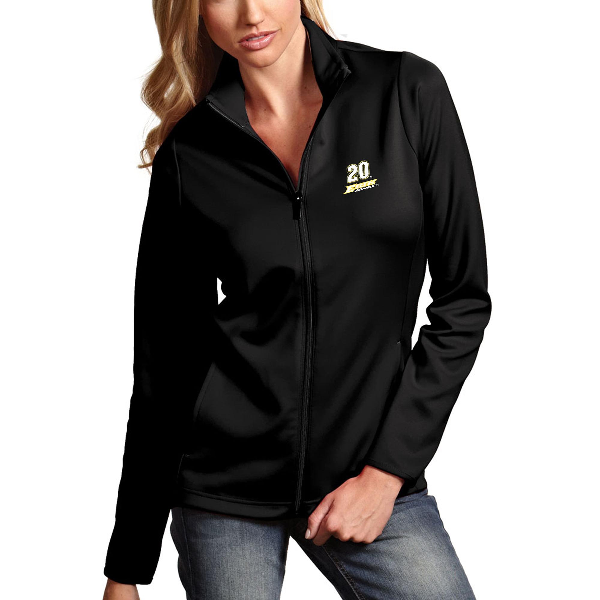 Erik Jones Antigua Women's Leader Full-Zip Jacket - Black
