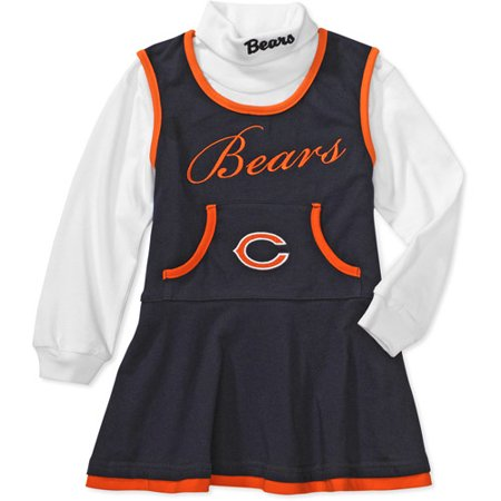 outlet store c946c 03dc9 NFL - Baby Girls' Chicago Bears Cheerleader Outfit - Walmart.com