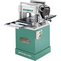 "Grizzly Industrial G1021Z 15"" 3 HP Planer w/ Cabinet Stand"