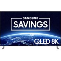 "SAMSUNG 75"" Class 8K Ultra HD (4320P) HDR Smart QLED TV QN75Q900R (2019 Model)"