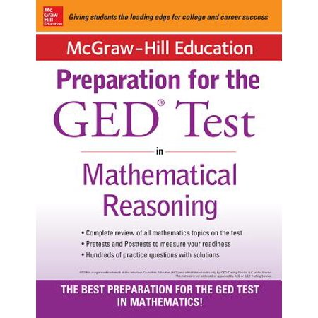 McGraw-Hill Education Strategies for the GED Test in Mathematical