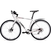 Livall O2 Alps 8Sp Smart Road Bike Bicycle Outdoor Sport & Recreation - Small, White (49CM)