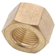 Anderson Metals 700061-04 0.25 in. Brass Compression Nut, Pack Of 10