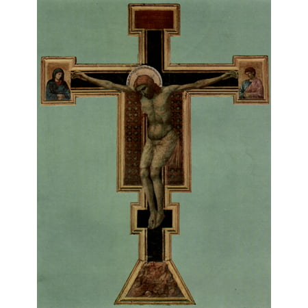 Framed Art for Your Wall Giotto di Bondone - Crucifix [3] 10 x 13 Frame