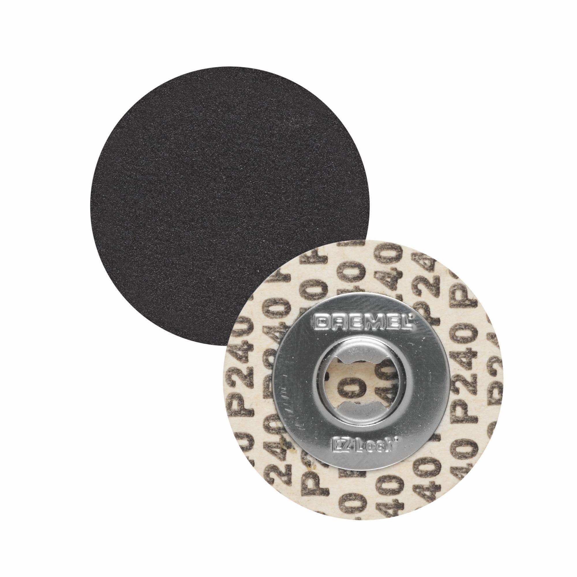 Dremel Ez413sa Ez Lock 1 1 4 Inch 240 Grit Sanding Discs 5 Pack Walmart Com