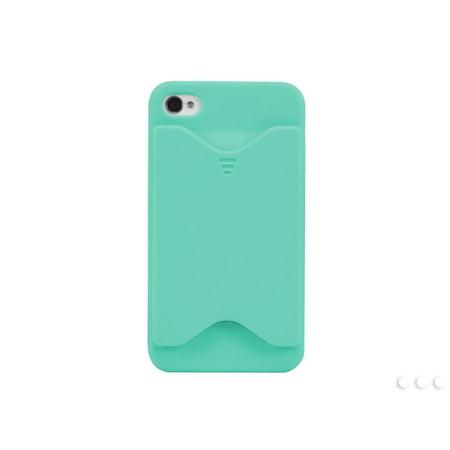 Cellet Blue Wallet Design Case for iPhone 4 & 4S
