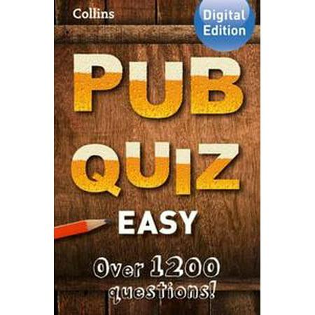 Collins Pub Quiz (Easy) - eBook](Easy Halloween Quiz)
