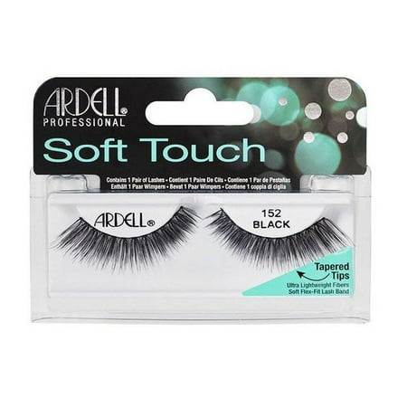 3 pack ardell soft touch lashes 152 black walmart com