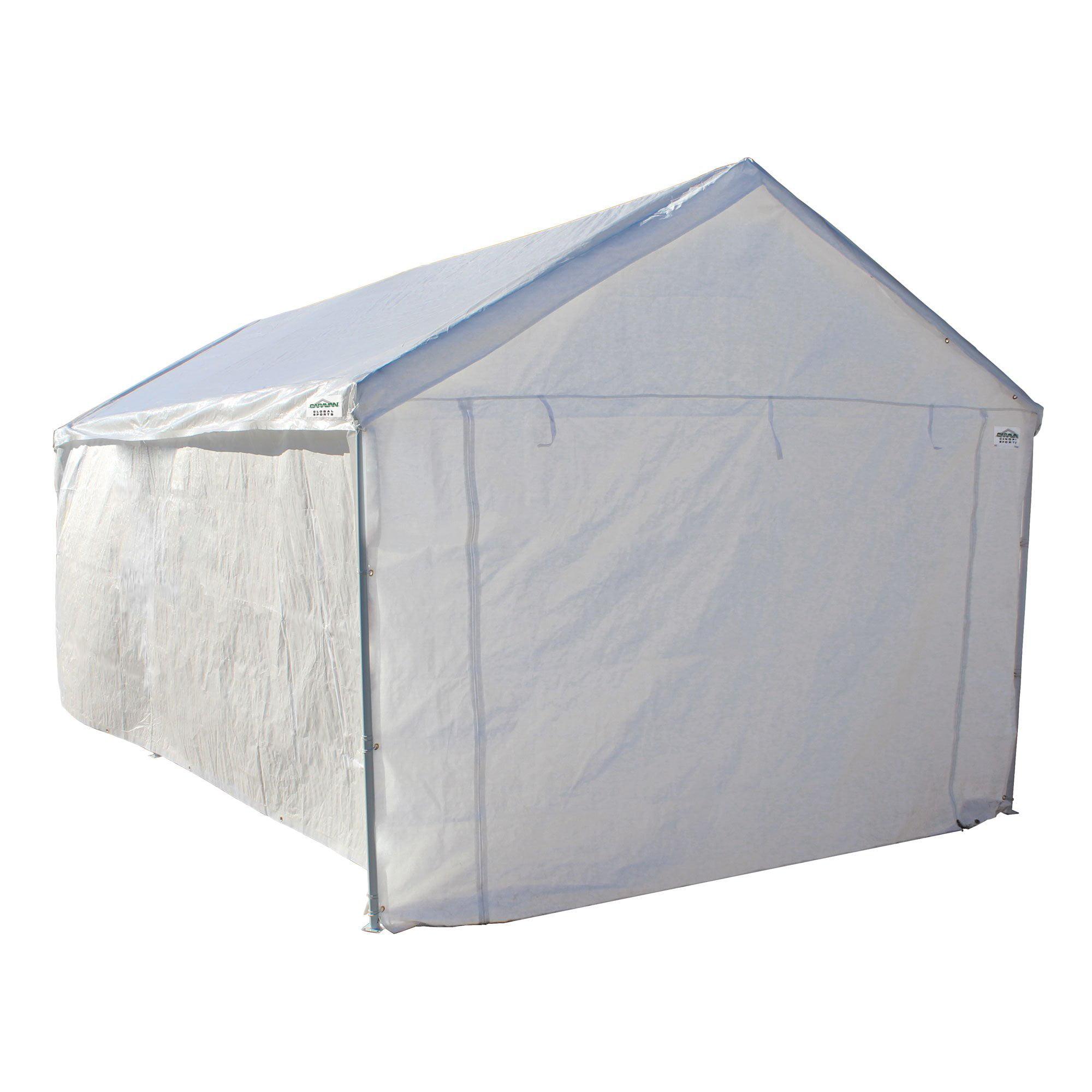 Caravan Canopy Sports 10\'x20\' Domain Carport Garage Sidewall ...