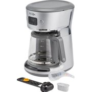 Mr. Coffee - 12-Cup Coffee Maker - Silver