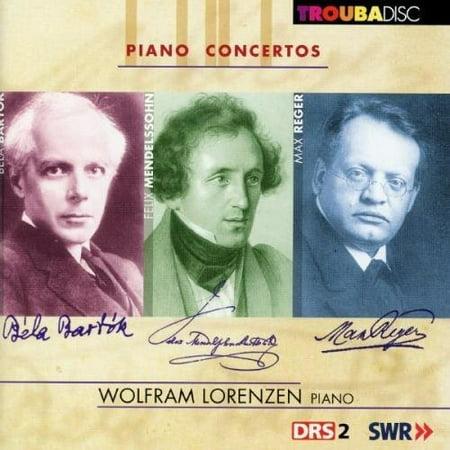 Mendelssohn   Lorenzen  Wolfram   V1  Piano Concertos  Capriccio Brillant Op  22  Cd