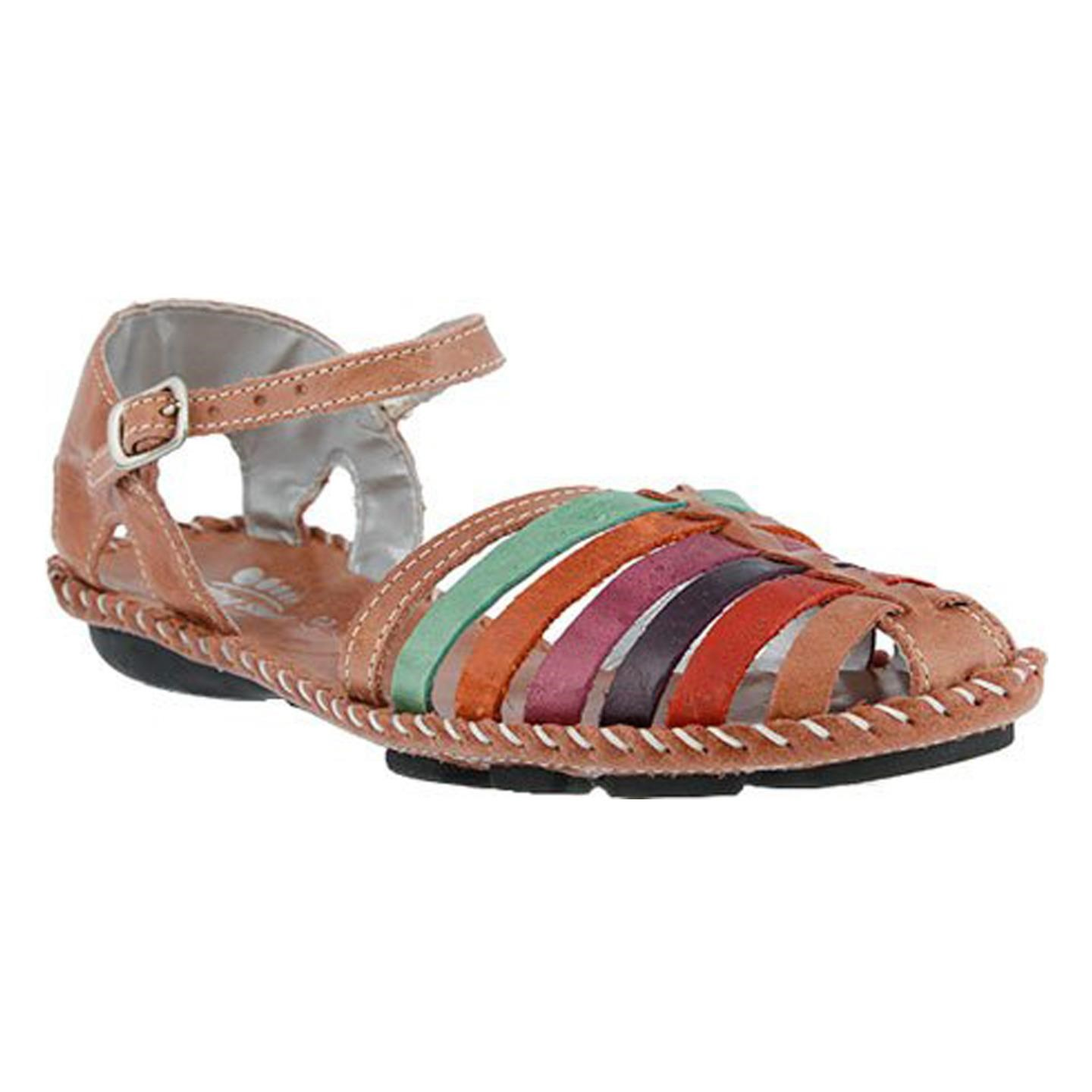 Chilton By Spring Step Rose Womens Leather Sandal 40 EU / 9 US Women