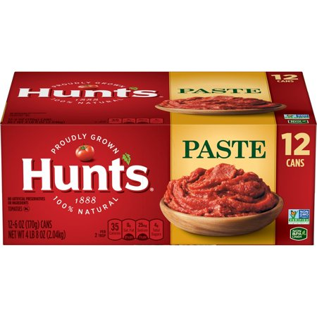 Product of Hunt's Tomato Paste, 12 pk./6 oz. [Biz - Tomato Paste