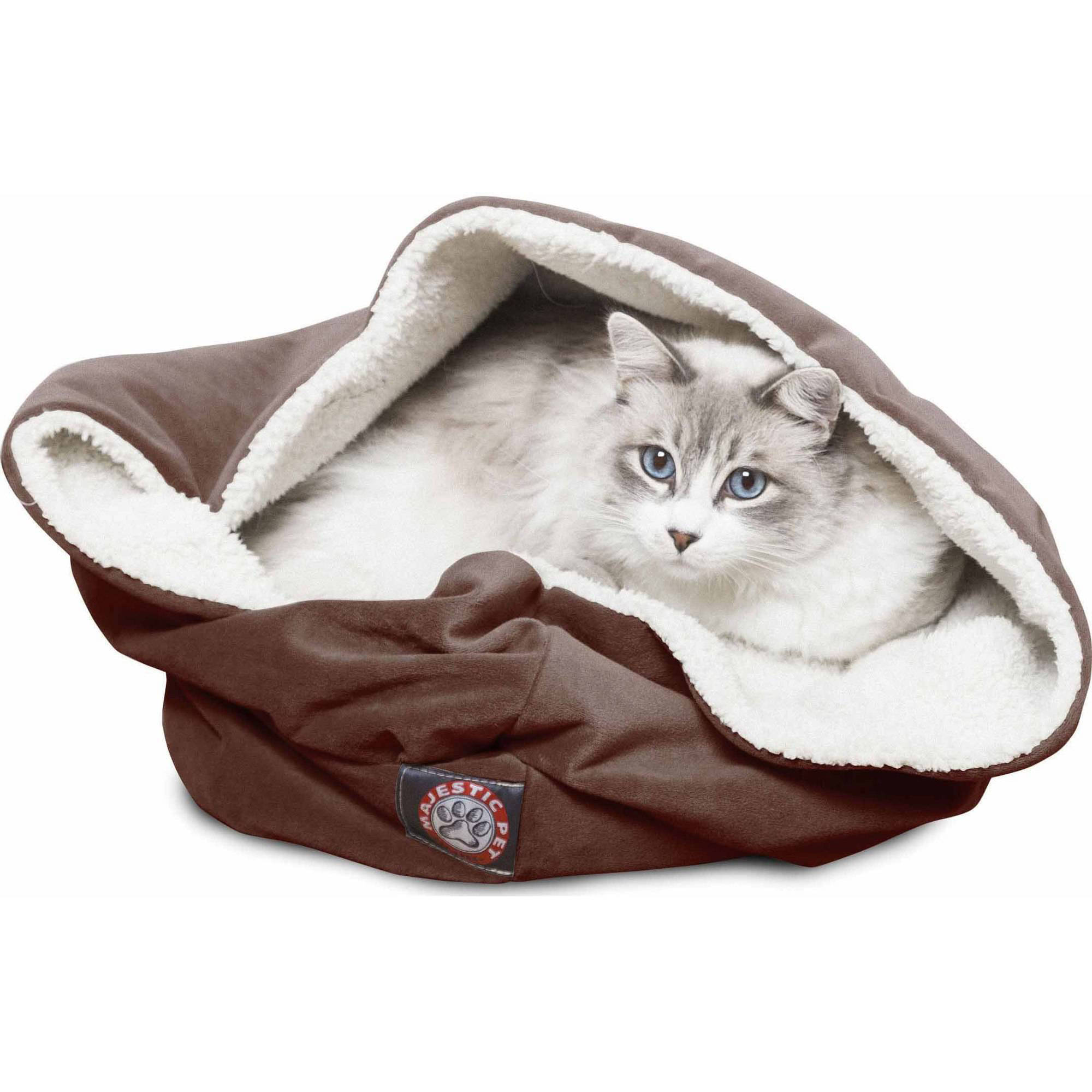 "Majestic Pet Products 17"" Suede Burrow Bed"