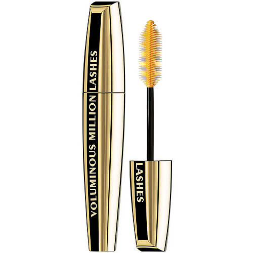 L'Oréal Paris Voluminous Million Lashes Mascara, Blackest Black, 0.3 Fl Oz