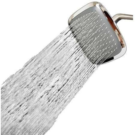 Sumbeam Chrome Jumbo Square Shower Head 6 Square Brass Showerhead