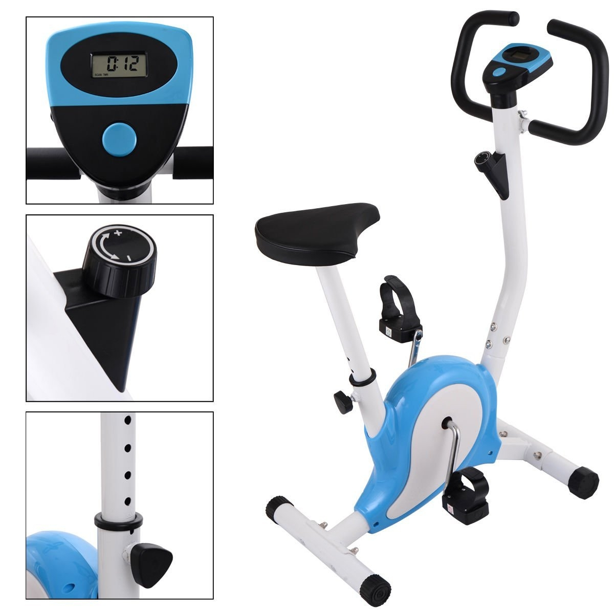New MTN-G Upright Exercise Bike Magnetic Resistance Cardi...