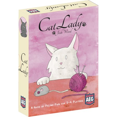Alderac Entertainment Group (AEG) Cat Lady Family Board (Best Board Games For Groups Of Adults)