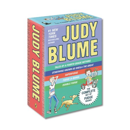Judy Blume's Fudge Box Set (Best Friends Whenever Working Nine To Fudge)