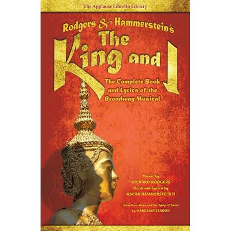 King Diamond Halloween Lyrics (Rodgers & Hammerstein's the King and I : The Complete Book and Lyrics of the Broadway)