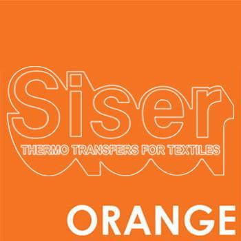 Siser Easyweed Orange Iron Heat Transfer Vinyl Roll HTV (Choose Your Size)