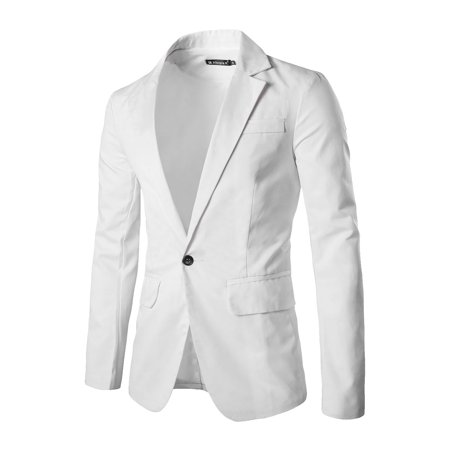 Notch Lapel Suit (Tasharina Men's Classic Notch Lapel Suiting Blazer )