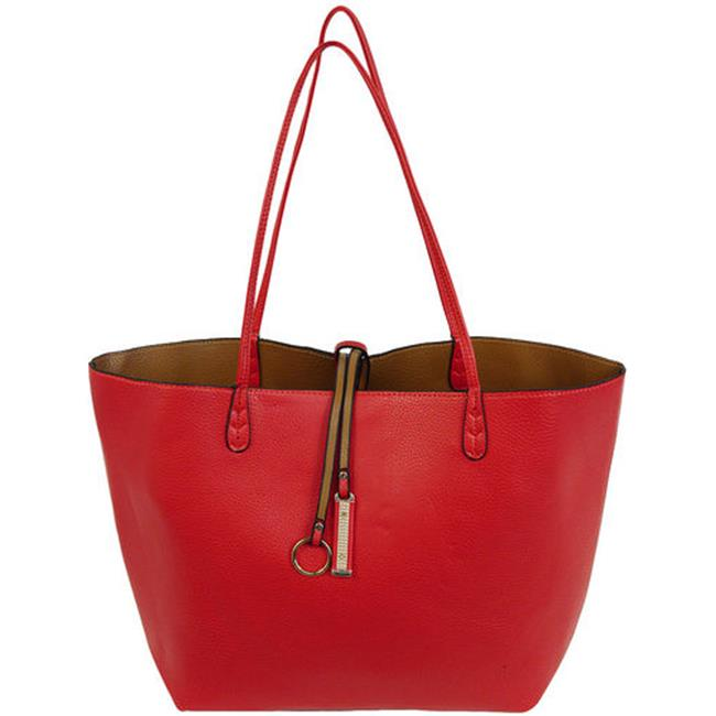 Cathrine Lillywhite GC1542RD Red Reversible Tote, 2 Piece - 12 x 17 inch