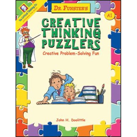 Dr  Funster's Creative Thinking Puzzlers, Book A1