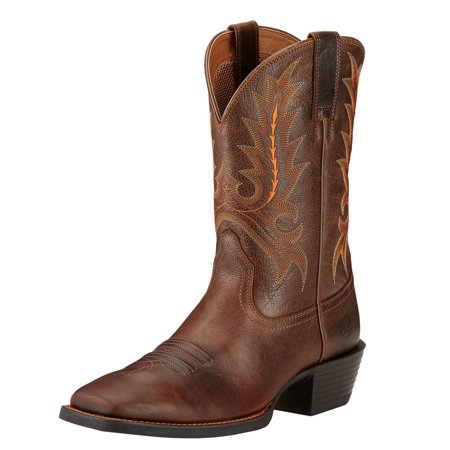 Ariat Sport Outfitter Men  Square Toe Synthetic  Western Boot Ariat Boots And Shoes
