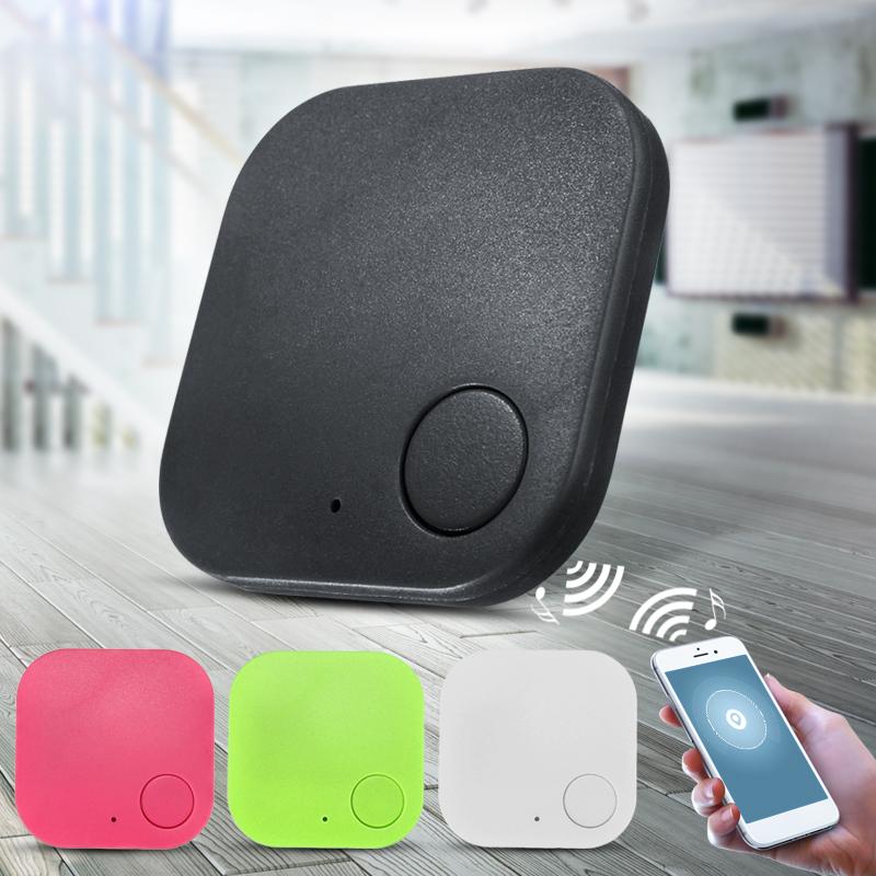 Mini Bluetooth Key Tracker Finder Smart Tag GPS Locator For Key Child Kid Pet Dog Cat Bag Anti Lost Alarm,Red color