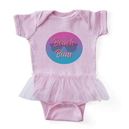 eccdbc492 CafePress - Beach Bum - Cute Infant Baby Tutu Bodysuit - Walmart.com