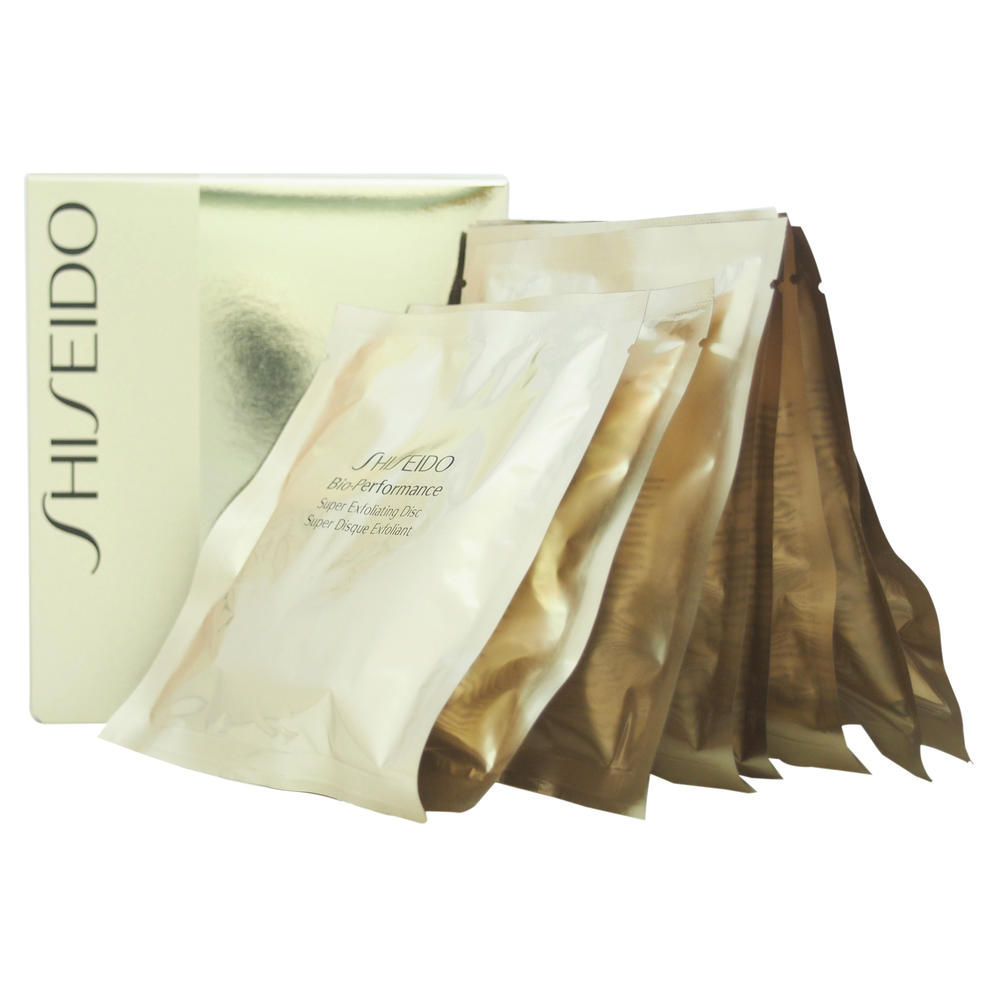 Bio Performance Super Exfoliating Discs by Shiseido for Unisex - 8 Discs Exfoliating Discs