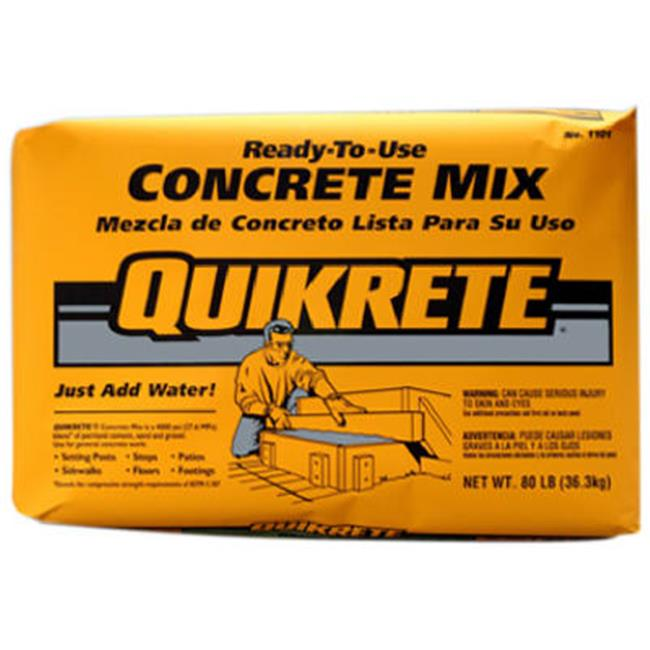 Quikrete 110180 80 lbs. Concrete Mix by Quikrete