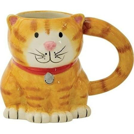 Cat: Pretty Kitty 18 oz. Earthenware Mug