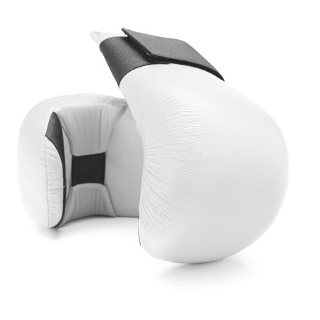 White Taekwondo, Karate Competiton Martial Arts Sparring Gloves Karate Sparring Gloves