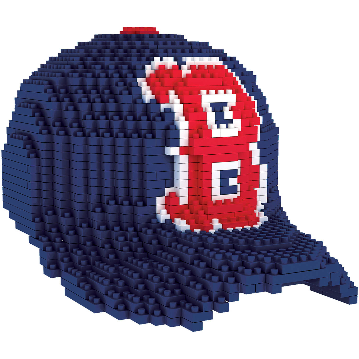 Forever Collectibles MLB 3D BRXLZ Mini Cap, Boston Red Sox