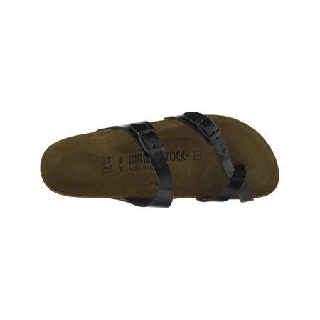 800e824bb6ded Birkenstock Mayari Birko-Flor Patent Black Sandal - 6N / 4N ...