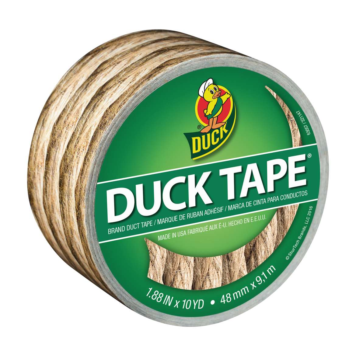 Duck Brand Duct Tape, 1.88 in. x 10 yds., Rope