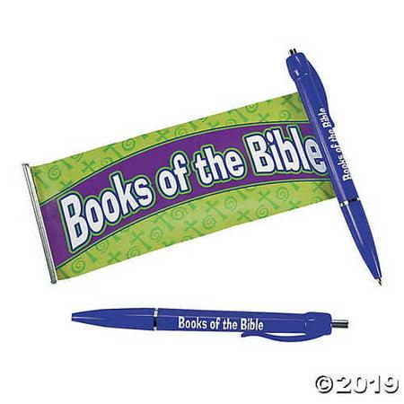 Religious Pens (Religious Books of the Bible Scroll Pen )
