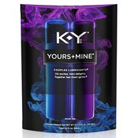 6 Pack - K-Y Yours and Mine Couples Lubricant, 3oz per Package