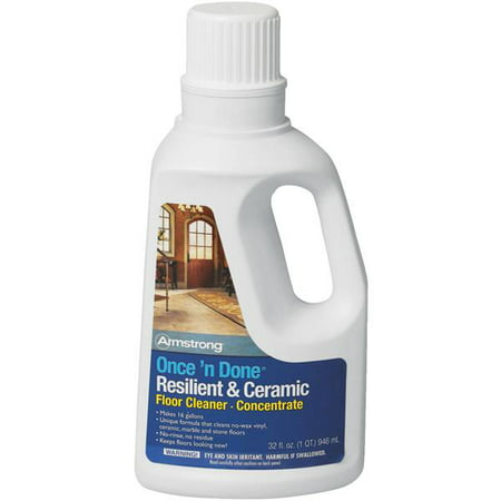 Armstrong Once and Done Resilient & Ceramic Floor Cleaner Concentrate