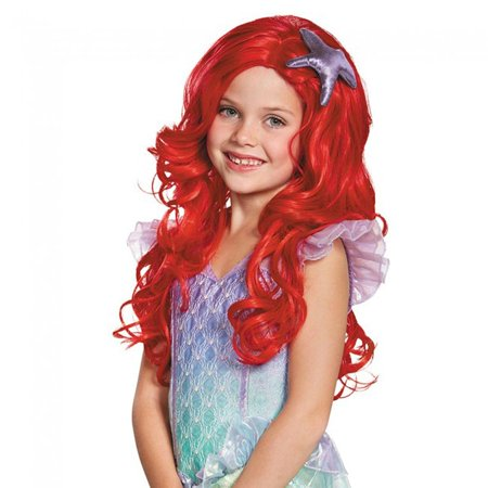 Little Mermaid Wig (Disney's The Little Mermaid Ariel Child Costume Wig One)